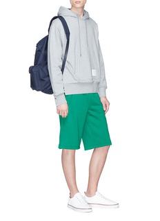 Moncler Zip gusset sweat shorts