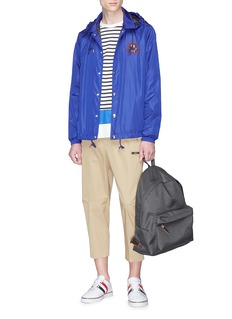 Moncler 'Lance' logo patch coach jacket
