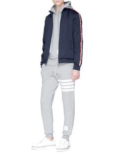 Moncler Logo stripe sleeve track jacket