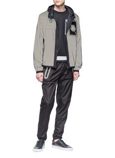 Moncler x Craig Green reflective logo patch sweatshirt