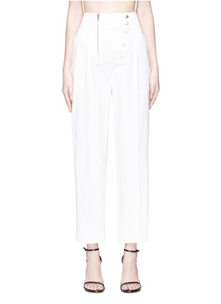 Main View - Click To Enlarge - CALVIN KLEIN 205W39NYC - Button zip placket pants