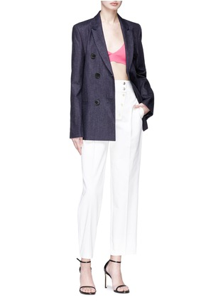 Figure View - Click To Enlarge - CALVIN KLEIN 205W39NYC - Button zip placket pants