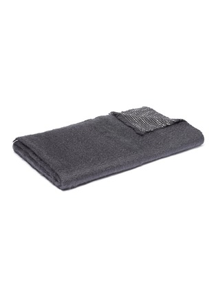 Main View - Click To Enlarge - L'OBJET - Seville throw –Grey