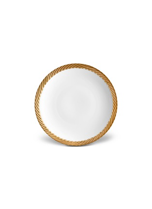 Main View - Click To Enlarge - L'OBJET - Corde dessert plate –Gold