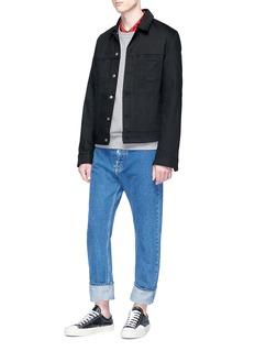 Acne Studios 'Pass Black' denim jacket