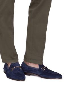 Henderson Horsebit suede loafers