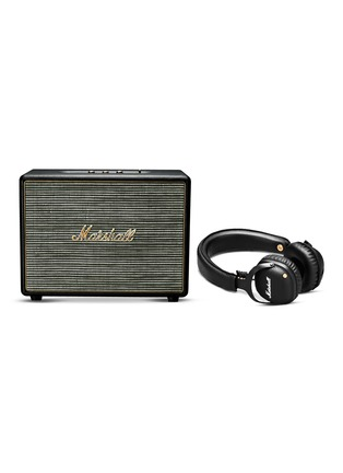 Main View - Click To Enlarge - Marshall - Woburn wireless speaker and Mid wireless over-ear headphones set