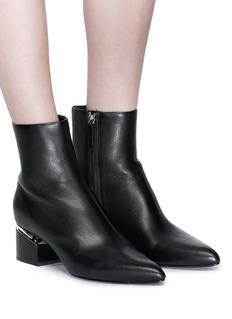 Alexander Wang  'Jude' floating heel leather boots
