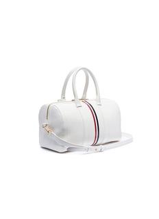 Thom Browne Vertical stripe medium leather bag