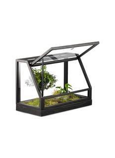 Design House Stockholm Greenhouse mini terrarium – Dark Grey