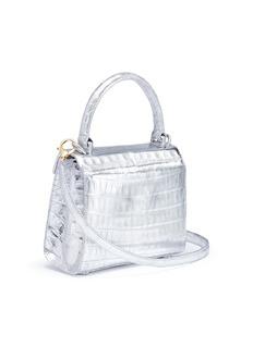 Nancy Gonzalez 'Lily' crocodile crossbody bag