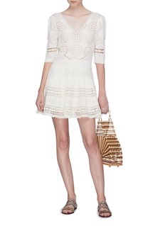 LoveShackFancy 'Paige' broderie anglaise dress