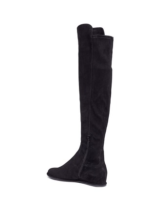 Detail View - Click To Enlarge - Stuart Weitzman - 'Allday' suede thigh high boots