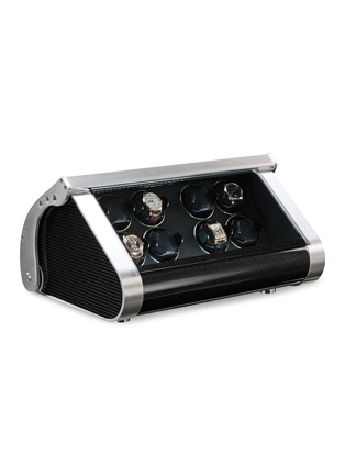 Main View - Click To Enlarge - BUBEN&ZÖRWEG - Revolution 8 TIME MOVER® watch winder –Carbon