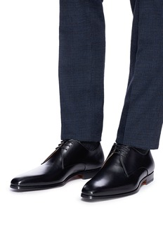 Magnanni Leather Derbies