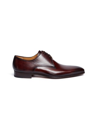 Main View - Click To Enlarge - MAGNANNI - Leather Derbies