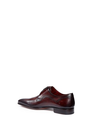 Detail View - Click To Enlarge - MAGNANNI - Stitched detail leather Derbies
