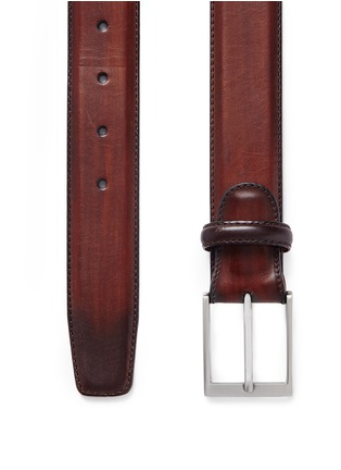 Detail View - Click To Enlarge - MAGNANNI - 'Guodi' calfskin leather belt