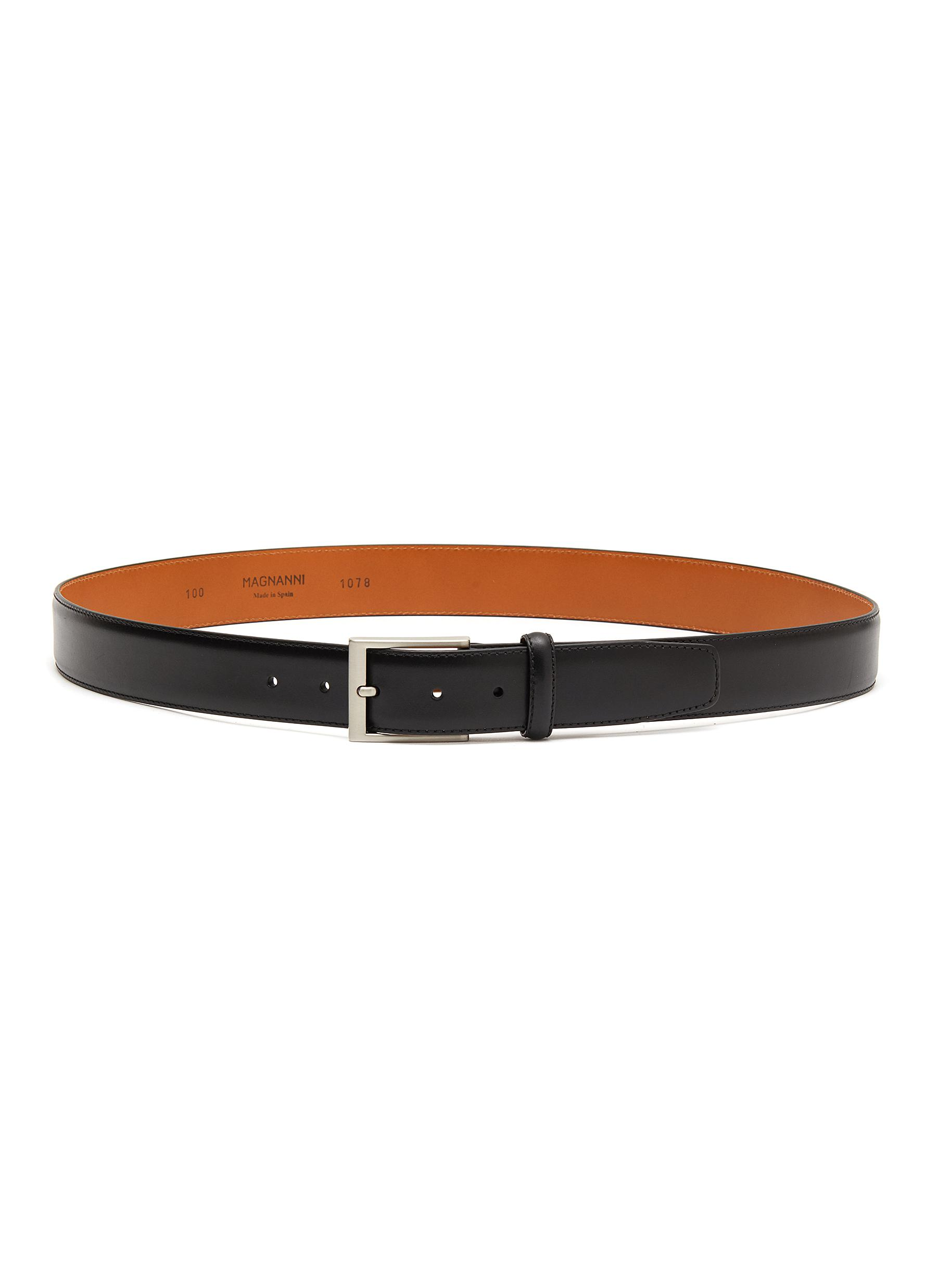 8e00033cd98f4 Main View - Click To Enlarge - MAGNANNI - 'Guodi' calfskin leather belt