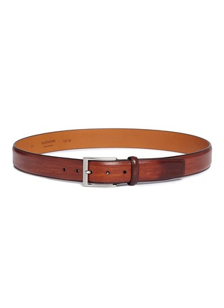 Main View - Click To Enlarge - Magnanni - 'Guodi' calfskin leather belt