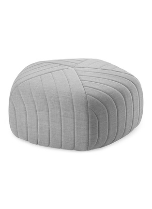 Main View - Click To Enlarge - MUUTO - Five Pouf small stool –Light Grey
