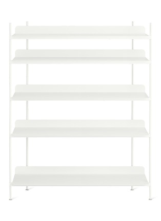 Main View - Click To Enlarge - MUUTO - Compile shelving system – White