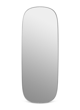 Main View - Click To Enlarge - MUUTO - Framed large mirror –Grey