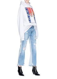 R13 'Keaton' double back jeans