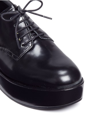 Detail View - Click To Enlarge - Ash - 'Madness' platform wedge leather Derbies