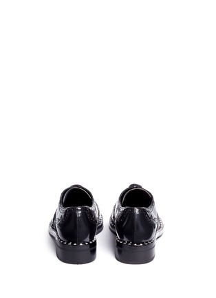 Back View - Click To Enlarge - Ash - 'Wing' leather brogue Oxfords