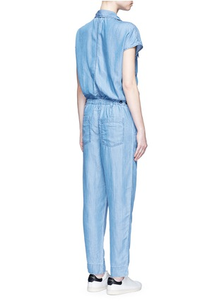 Back View - Click To Enlarge - CLOSED - 'Jane' utility straight leg lyocell jumpsuit
