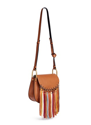 Figure View - Click To Enlarge - Chloé - 'Hudson' small suede fringe leather shoulder bag
