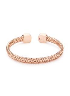 Roberto Coin 'Primavera' mother of pearl 18k rose gold cuff