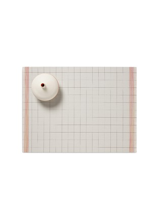 Main View - Click To Enlarge - CHILEWICH - Selvedge placemat –Natural/Orange