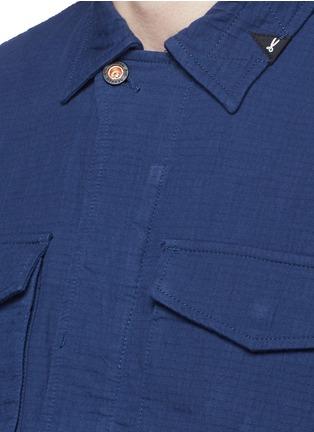 Detail View - Click To Enlarge - Denham - 'James' cotton dobby field jacket