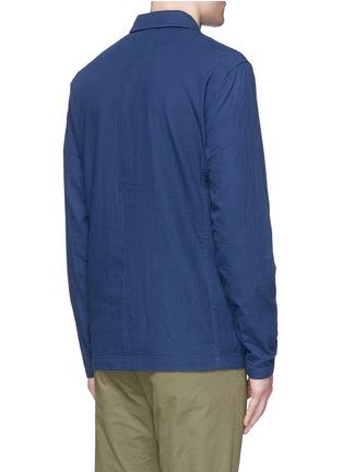 Back View - Click To Enlarge - Denham - 'James' cotton dobby field jacket