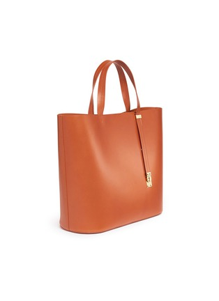 Detail View - Click To Enlarge - Sophie Hulme - 'Exchange East West' leather tote
