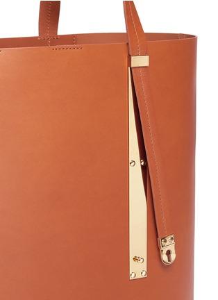 - Sophie Hulme - 'Exchange East West' leather tote