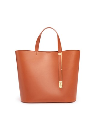 Main View - Click To Enlarge - Sophie Hulme - 'Exchange East West' leather tote