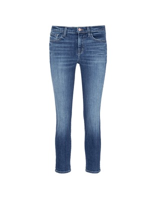 Main View - Click To Enlarge - J Brand - 'Sadey Slim Straight' cropped jeans