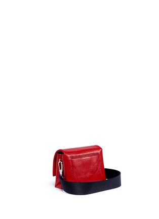Detail View - Click To Enlarge - 3.1 Phillip Lim - 'Alix Sport' paperclip flap micro leather crossbody clutch