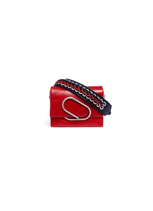Main View - Click To Enlarge - 3.1 Phillip Lim - 'Alix Sport' paperclip flap micro leather crossbody clutch
