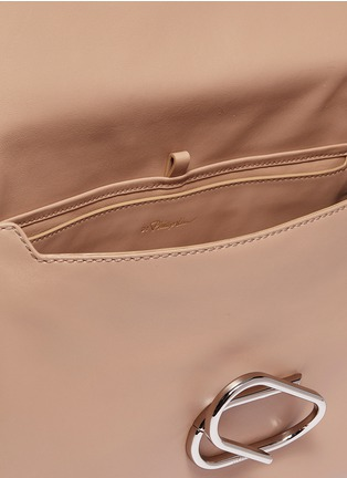 Detail View - Click To Enlarge - 3.1 Phillip Lim - 'Alix' paperclip flap oversized leather crossbody bag