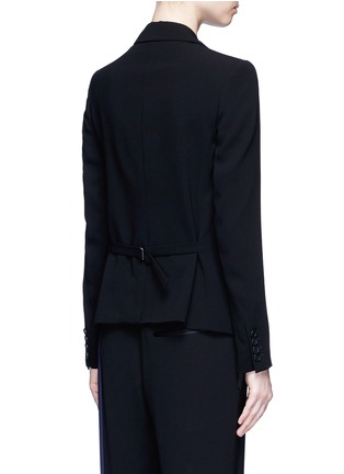 Back View - Click To Enlarge - Theory - 'Robiva' stretch crepe jacket