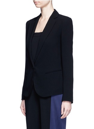 Front View - Click To Enlarge - Theory - 'Robiva' stretch crepe jacket