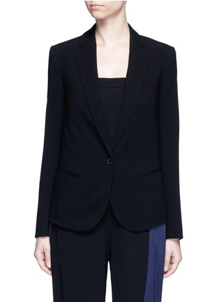 Main View - Click To Enlarge - Theory - 'Robiva' stretch crepe jacket