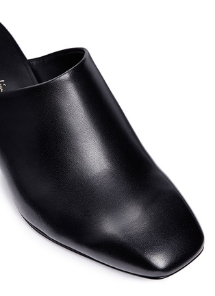 Detail View - Click To Enlarge - 3.1 Phillip Lim - 'Cube' leather square toe mules