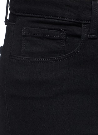 Detail View - Click To Enlarge - L'Agence - 'THE MARGOT' CROPPED SKINNY PANTS