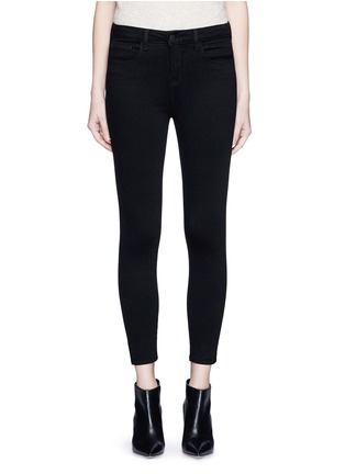 Main View - Click To Enlarge - L'Agence - 'THE MARGOT' CROPPED SKINNY PANTS