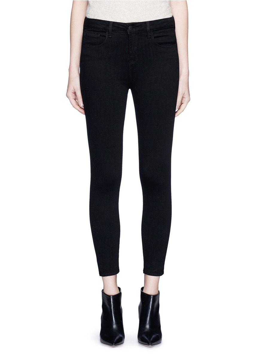 shop L'Agence 'THE MARGOT' CROPPED SKINNY PANTS online